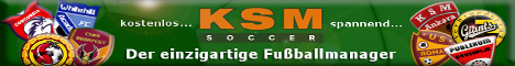 KSM-Soccer - Onlinefussballmanager f�r echte Strategen!